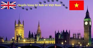 Chuyển hàng từ Anh về Việt Nam